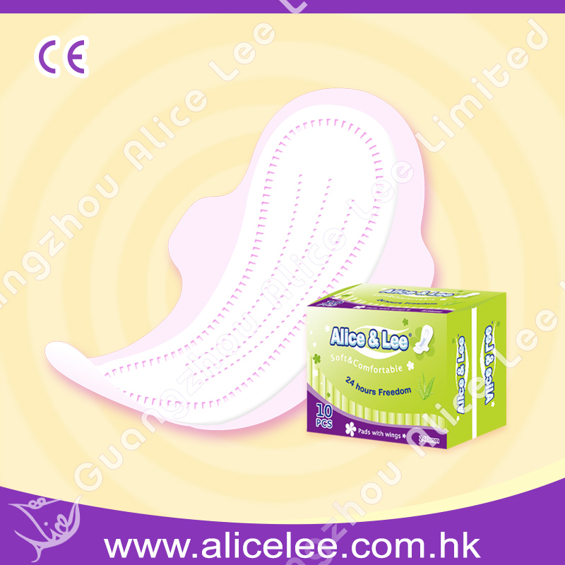 240mm(non-woven top sheet) Sanitary Napkins of Alice & L